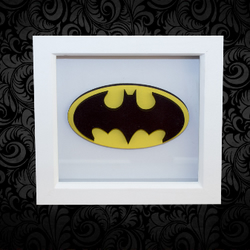 BatMan 3D Box Frame Wall Art
