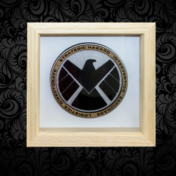 S.H.I.E.L.D 3D Box Frame Wall Art