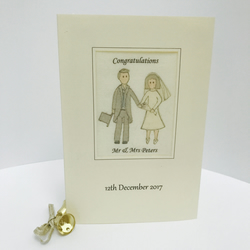 Personalised weddding cards