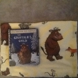 Gruffalo snuggle blankie and book