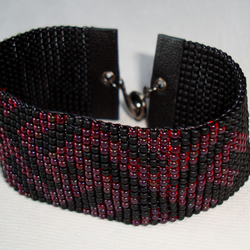 Beaded bracelet for men.