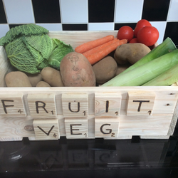 fruit and  vegetables storage box