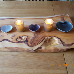 Gorgeous yew food plinth or table centre for wedding feast