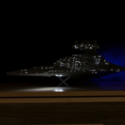 Set of lighting for Star Wars Imperial Star Destroyer model kit ZVEZDA or Revell