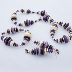 Funky Recycled Purple Jewellery Set