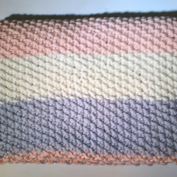 Luxurious baby blanket - pink