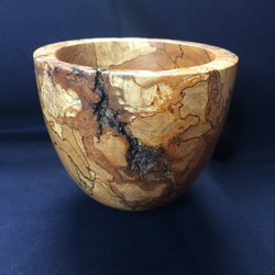 Spalted Beech small deep vessel