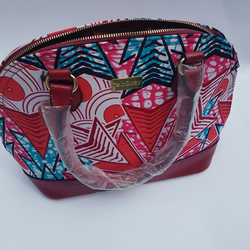 Dome Ankara Satchel Bag