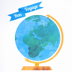 Bon Voyage Greetings Card