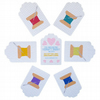 Set Of Six Cotton Spool Tags