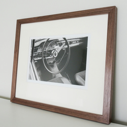 Classic Car Volvo Cockpit Fine Art Photo Framed in Hardwood