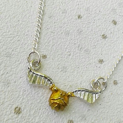 golden snitch necklace harry potter jewellery gifts