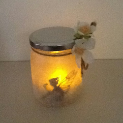 Christmas,Birthday,New home,Home Decor,Garden,Fairy Sparkle Tea Light Candle Jar