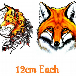 Fox code 2  Temporary Tattoo