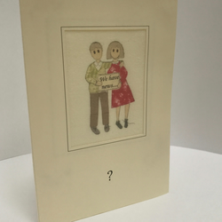 Personalised Card 'We have News......'