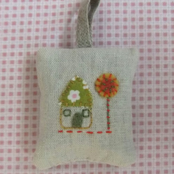 little house lavender bag or bag charm