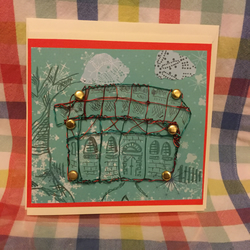 Wire design new home card