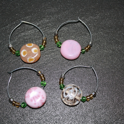 Wine charms - Set of four
