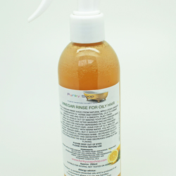 1bottle Vinegar Rinse Oily Hair, natural and free of chemicals, 250ml