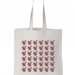 Squirrels Cotton Tote Bag