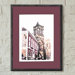Duncombe Place Screen print York