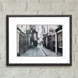 The shambles York Screen Print