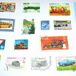 Assorted Vintage Mixed World Stamps,Collage Art Materials,Colour Stamp,Art Paper