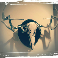 BICYCLE TAXIDERMY STAG