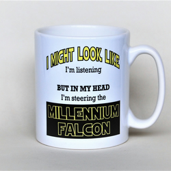 Star Wars mug Millennium Falcon mug Father's Day mug gift for him