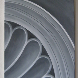 Original contemporary artwork, canvas acrylic art, black and white painting