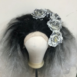 Customised Drag Queen Horror Wig 'Rose Truama'