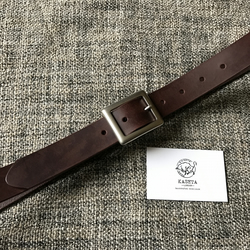 Leather Belt, Men Belts, Ladies Belt, Belt 'Oliver - Chocolate'