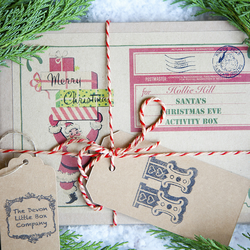 Magical Personalised Christmas Eve Activity Box