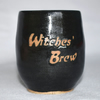 Witches Brew wheel thrown pottery wine cup tumbler