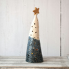 19-383 Ceramic Christmas Tree Tea Light Holder (UK postage free)