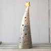 19-389 Ceramic Christmas Tree Tea Light Holder (UK postage free)
