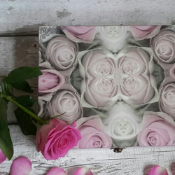 Wooden decoupage box, Gift for woman, very fresh, box, new, original, stylish fo