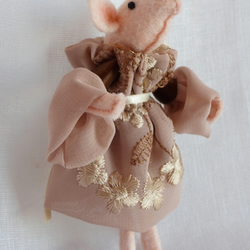 Pig in a party frock