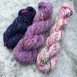 Pretty Purples - Handspun Creative Weaving Pack