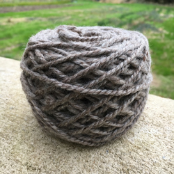 Bluefaced Leicester Handspun Yarn Natural Oatmeal