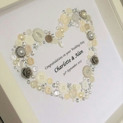 Handmade Personalised Occasion Picture - Wedding, Birthday, Anniversary etc