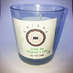 Votive soy wax candle