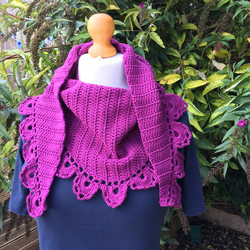Crochet Mapleton Shawl