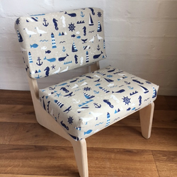 RETRO CHILD'S UPHOLSTERED CHAIR