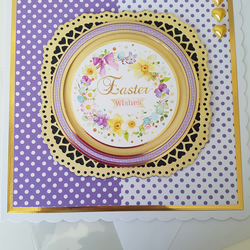 Easter wishes - Handmade card