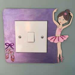 Ballet Dancer light Switch Surround