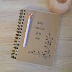 Personalised A5 hardback lined notebook NB2