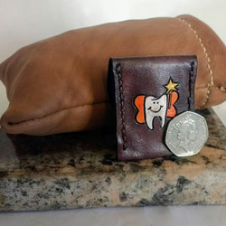 Leather Tooth Fairy Pouch