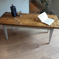 Beautiful little coffee table suitable for any room handmade in UK