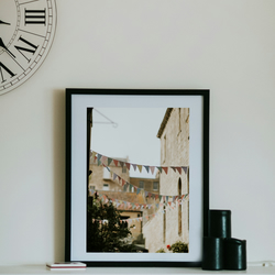 Photography Art Print - Bath Banners - A3 size